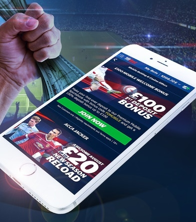Place your bet on the go with the 10bet mobile app!