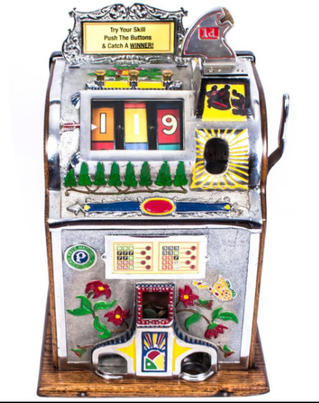 How mechanical slot machines look like?