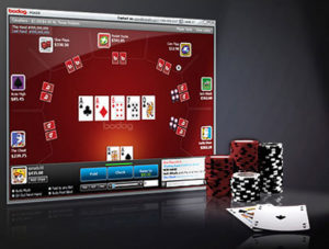 poker sites screen